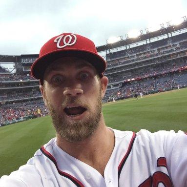 Outfielder Bryce Harper of the Washington Nationals. Bryce Harper/AP