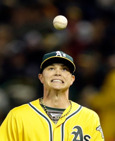 Pitcher Sonny Gray of the Oakland Athletics. tokenlefty.com
